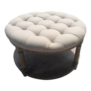 Marge Carson Ottoman Bench / Coffee Table For Sale