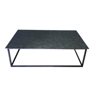 Industrial Restoration Hardware Mercer Coffee Table For Sale