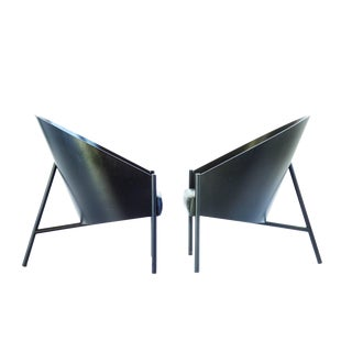 Phillipe Starck Three Leg Lounge Chairs For Sale