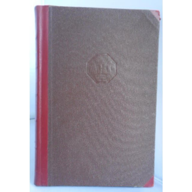 Traditional Matching Leather Bound - Set of 6 For Sale - Image 3 of 5