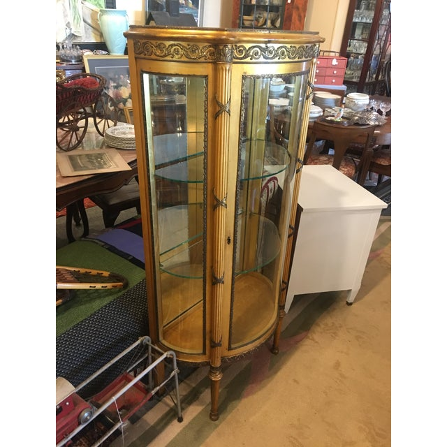 French Vitrine Curio Cabinet - Image 3 of 6