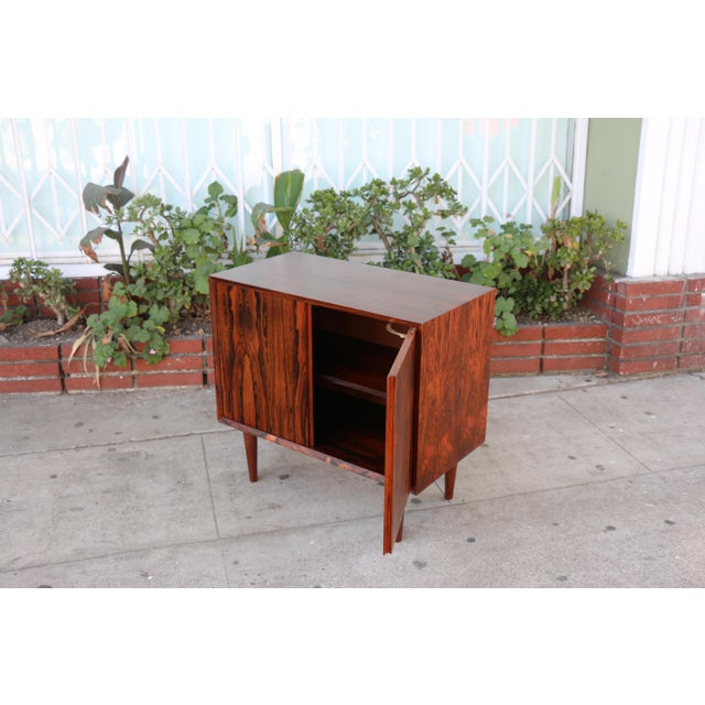 Rosewood Small Cabinet - Image 4 of 11