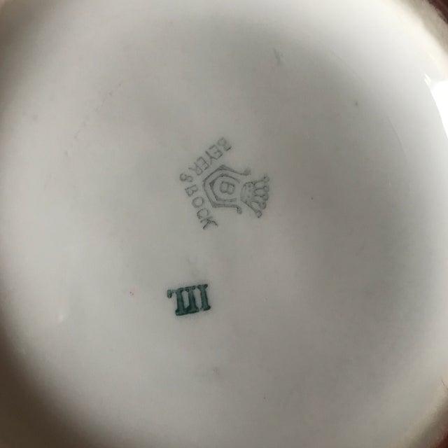 Antique Beyer Bock German Sienna Ceramic Serving Dish For Sale - Image 10 of 11