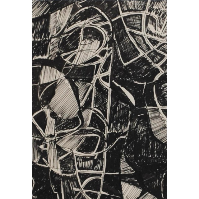 1960s Abstract Drawing, I - Image 3 of 3