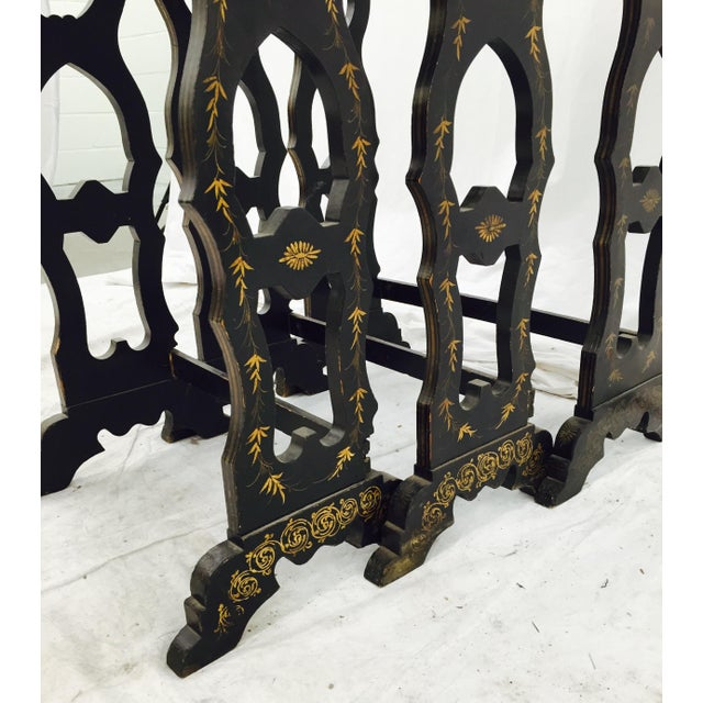 Antique Asian Lacquered Nesting Tables 3 Chairish