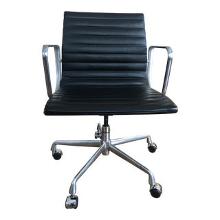 Modern Eames Herman Miller Ea335 Aluminum Group Management Chair For Sale