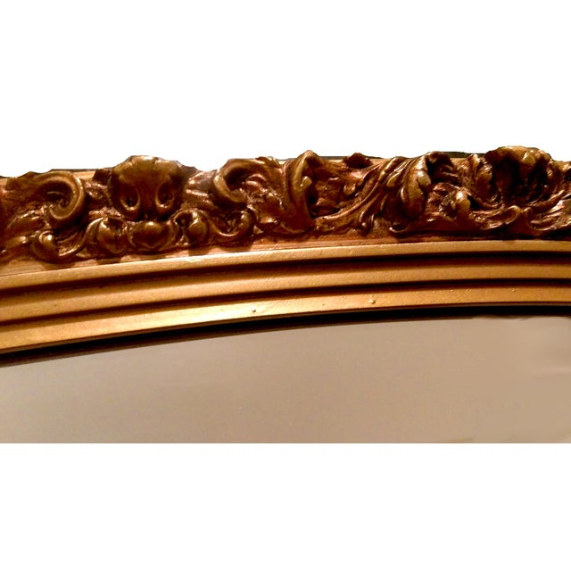 1920s Gilded Garland Mirror - Image 6 of 7