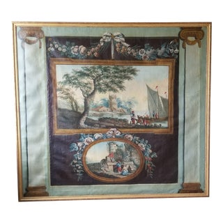 Large Maison Jansen French Painting For Sale