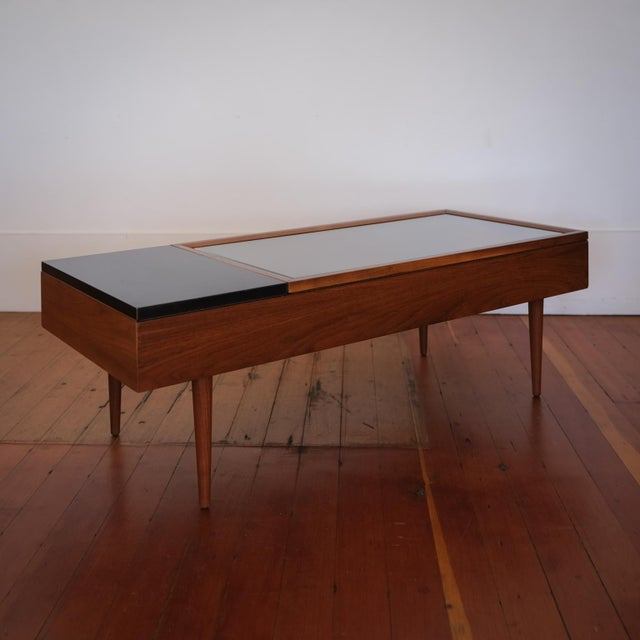 Black Vitrine Coffee Table by Stewart MacDougall for Glenn of California For Sale - Image 8 of 13