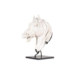 1930s Vintage Horse Head Sculpture For Sale