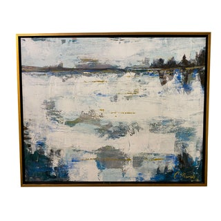 """Contemporary Abstract""""Reflections"""" Painting For Sale"""