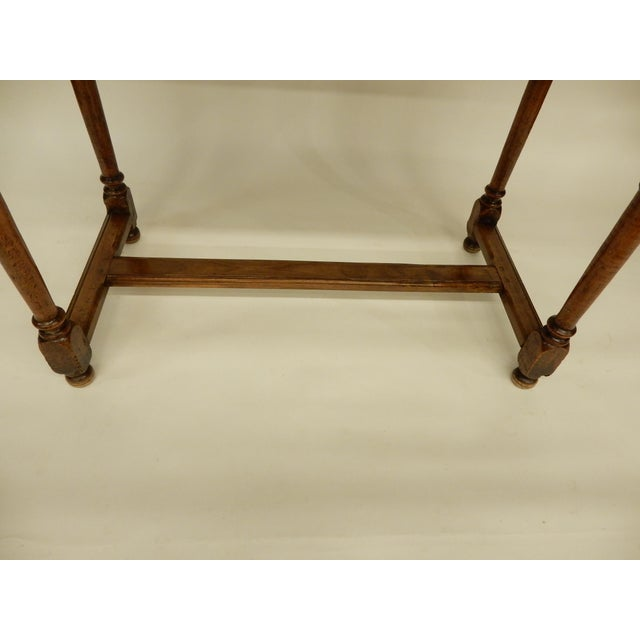 Early 19th Century Italian Walnut Side Table/Console For Sale In New Orleans - Image 6 of 7