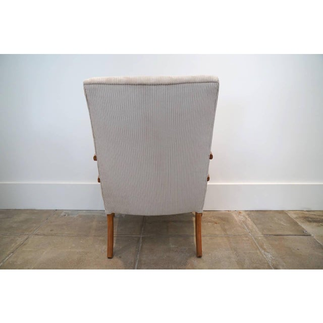 1950s American Sabre Leg Armchair For Sale - Image 5 of 5