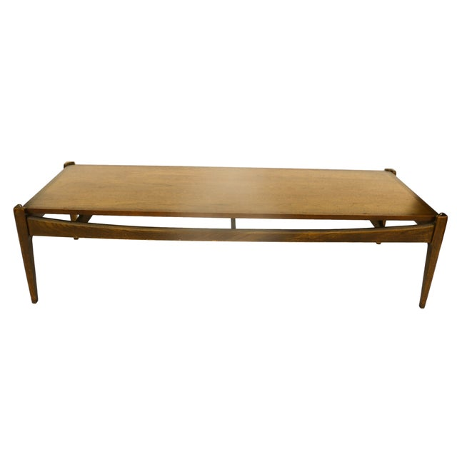 Bassett Mid-Century Modern Coffee Table - Image 7 of 10