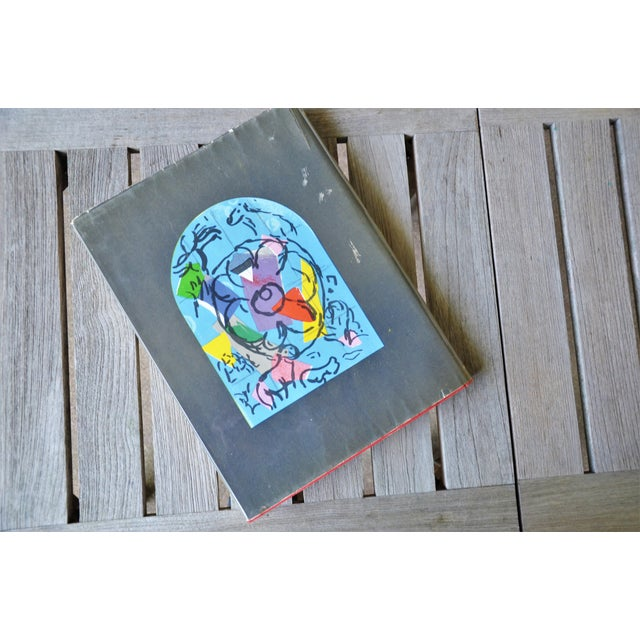 Marc Chagall the Jerusalem Windows Hardback First Edition Book For Sale - Image 11 of 12