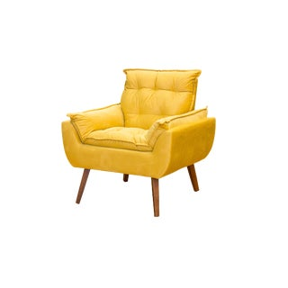 Modern Melissa Yellow Armchair For Sale