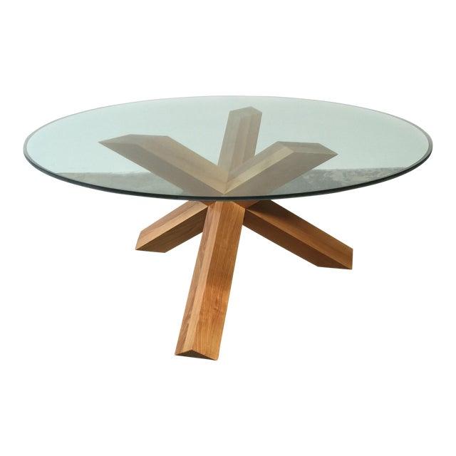 Cassina & Mario Bellini La Rotonda Glass Dining Table - Image 1 of 5