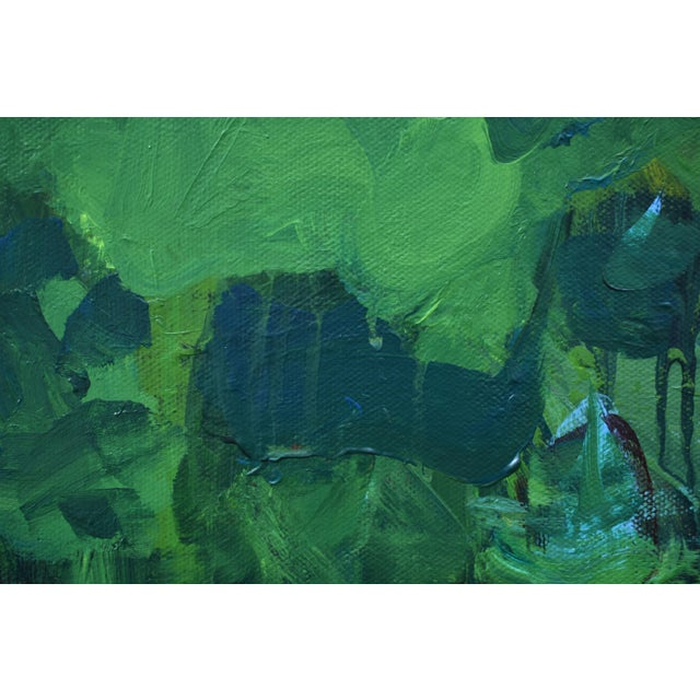 Canvas Lush Garden by Stephen Remick For Sale - Image 7 of 12