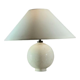 Jean Besnard Attr. Table Lamp - Signed Str - Vintage 1930s French For Sale