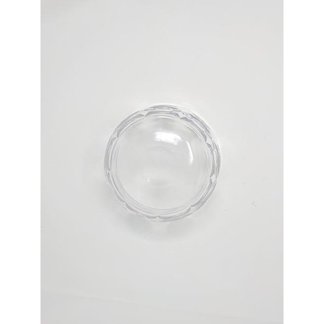 Orrefors Vintage Orrefors Crystal Bowl For Sale - Image 4 of 6