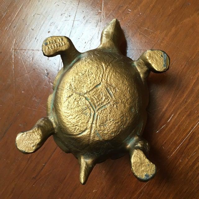 Austrian Gilt Metal Turtle Ashtray - Image 6 of 7