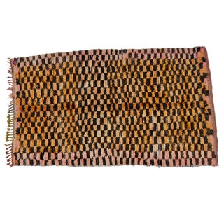 Berber Checkered Rug For Sale