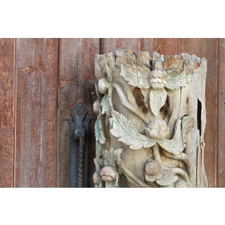 18th Century Temple Dragon Carving Preview