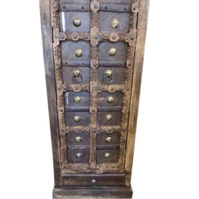 1920s Antique Rustic Primitive Doors Storage Cabinet For Sale - Image 5 of 7