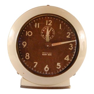 Vintage Westclox 'Baby Ben' Alarm Clock For Sale