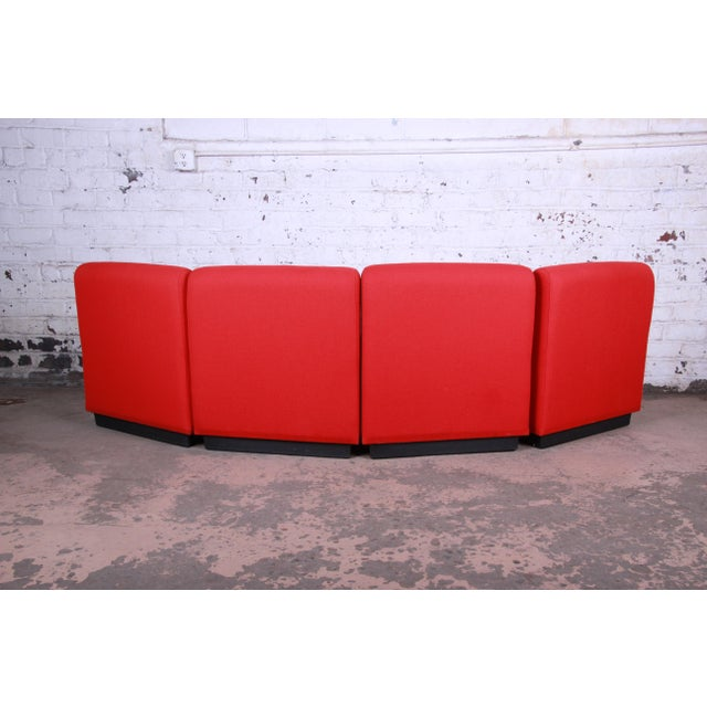Red John Mascheroni for Vecta Tappo Modular Sectional Sofa For Sale - Image 8 of 10
