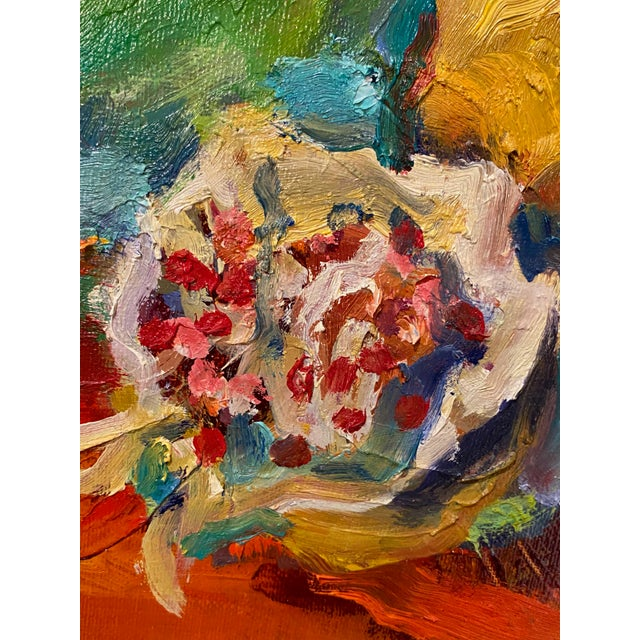 """French Impressionist Painting by Adrien Moroni, """"Fruits de Grenade"""" For Sale In Dallas - Image 6 of 9"""