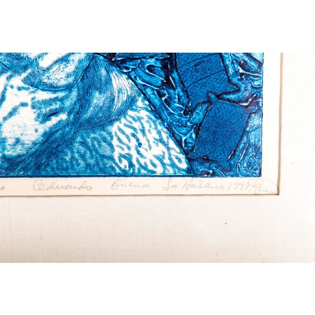 """Late 20th Century Numbered """"Pienso"""" Drawing For Sale In New York - Image 6 of 13"""