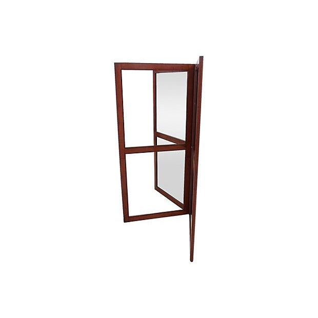 French Mirrored Screen Divider - Image 2 of 4