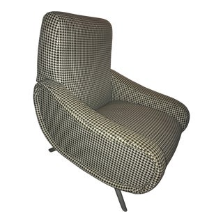 DWR Houndstooth Upholstered Lady Chair
