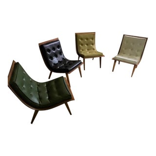 Carter Brothers Scoop Chair [Price Is Per Chair.] For Sale