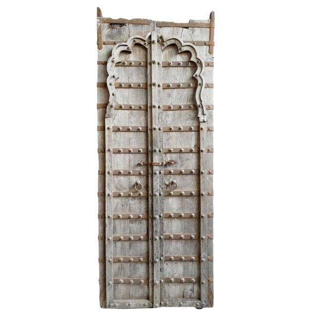 Tall Antique Raja Door For Sale