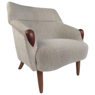 Danish Modern Lounge Chair in the Style of Kurt Ostervig For Sale
