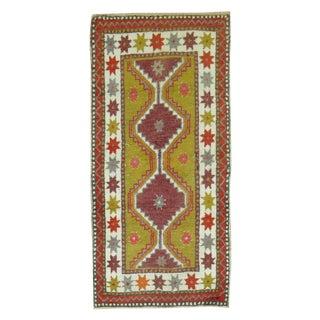 Vintage Anatolian Rug - 2′ × 4′4″