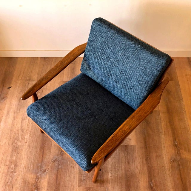 Mid-Century Modern Walnut Arm Chair For Sale In Seattle - Image 6 of 13