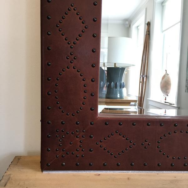 Ralph Lauren Home Safari Mirror For Sale - Image 5 of 7