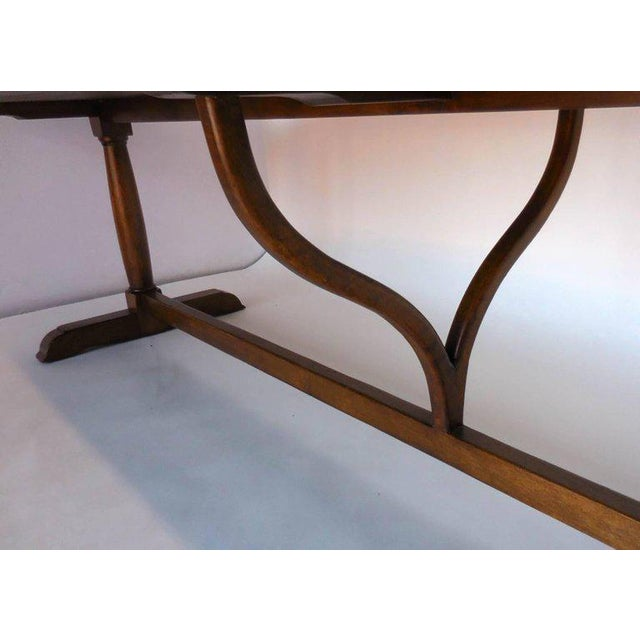 Not Yet Made - Made To Order Dos Gallos Custom Oval Wine Tasting Table in Walnut For Sale - Image 5 of 8
