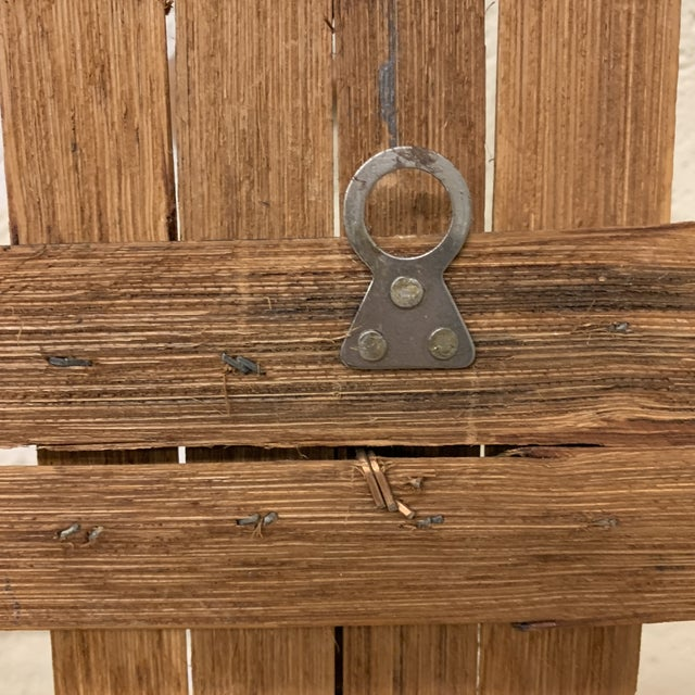 Italian Bamboo Hat or Towel Rack For Sale In Richmond - Image 6 of 12