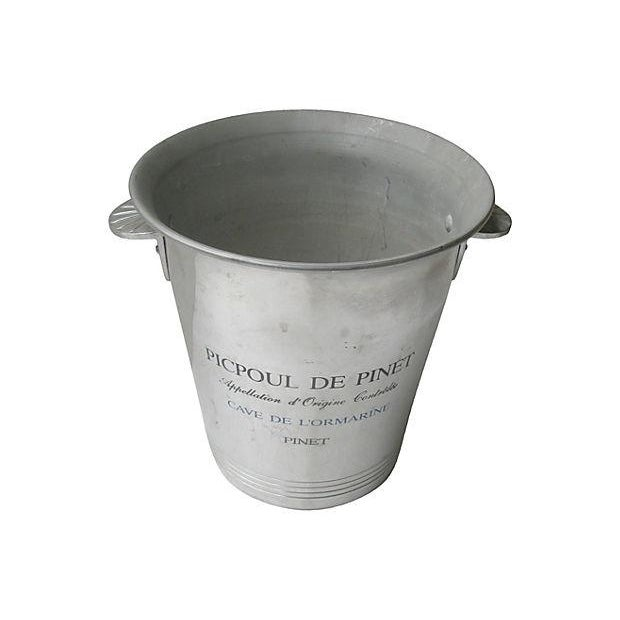 Vintage French Bistro Champagne Bucket - Image 3 of 4