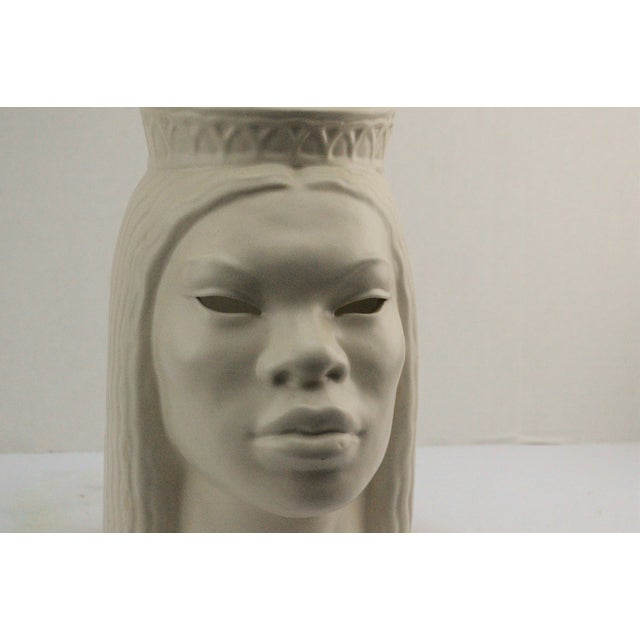 Doan Powell Polynesian Head Sculpture For Sale - Image 11 of 11
