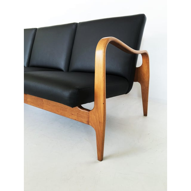Pair of Modernist Thonet Bentwood Sofas For Sale - Image 10 of 13
