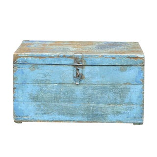 British Colonial Blue Trunk