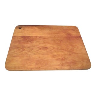 Mid-Century Butcher Board for Cutting For Sale