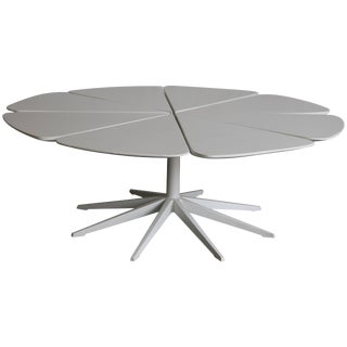 Vintage Richard Schultz White Petal Coffee Table For Sale