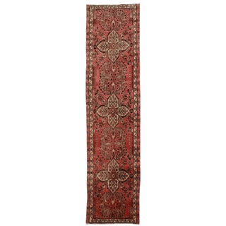 Rugsindallas Vintage Persian Hamadan Runner - 2′11″ × 12′5″ For Sale