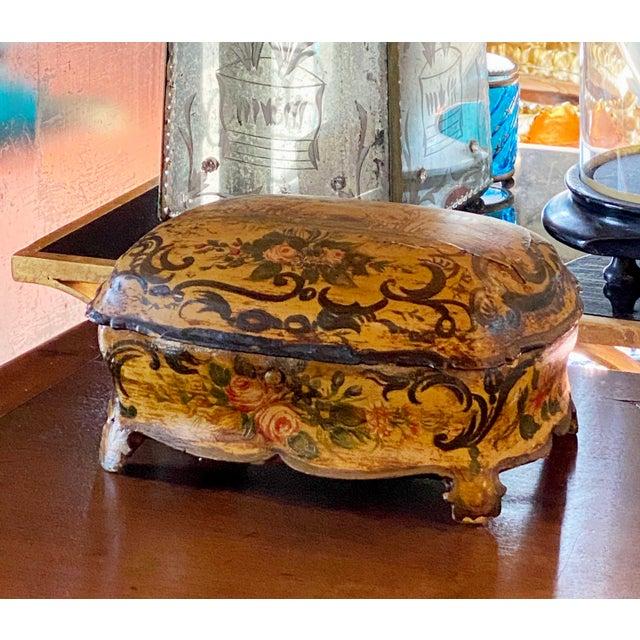 "Italian Jewelry Box Circa 1890 11"" Wide x 7"" Deep x 5.5"" High"